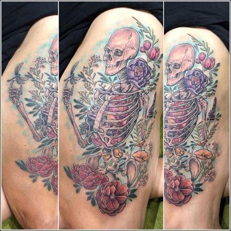 Latest Skeleton Tattoos Find