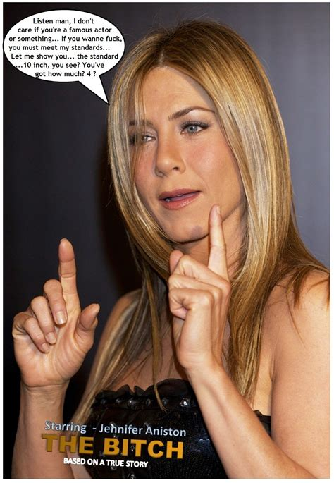 Jennifer Aniston Captions And Fakes Movie The Bitch
