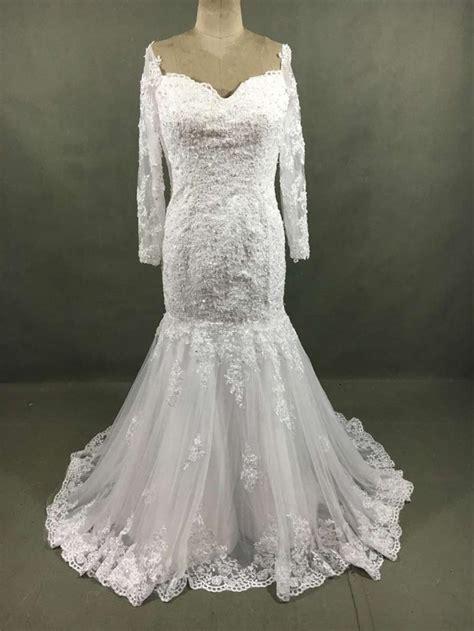 Vestido De Novia Hot Sale White Ivory Lace Wedding Dresses