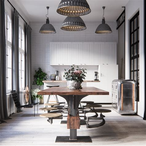dining room industrial style dining room design the essential guide