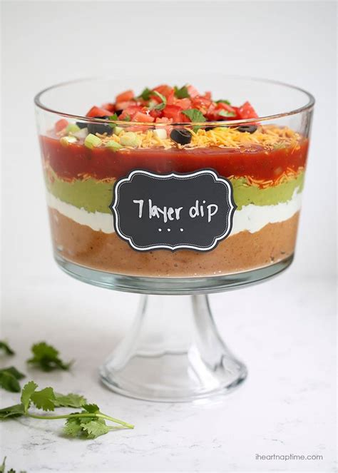 layer dip recipe  heart naptime