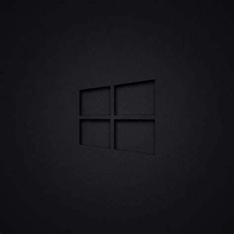 2048x2048 Windows 10 Dark Ipad Air Hd 4k Wallpapers