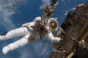 A Different View on a Spacewalk | NASA
