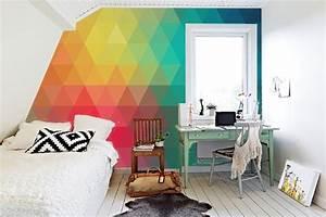 Papier Peint Ado : papier peint pour chambre ado fabulous ides sur lu ~ Dallasstarsshop.com Idées de Décoration
