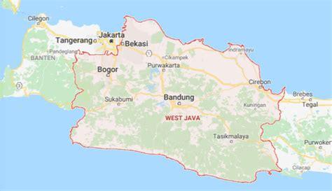 peta jawa barat lengkap hd google map