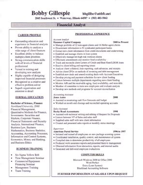 Padded His Resume by Tech Resume
