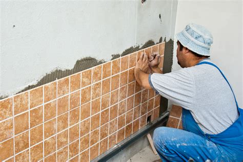 ceramic tile installation laying wall tiles tile design ideas