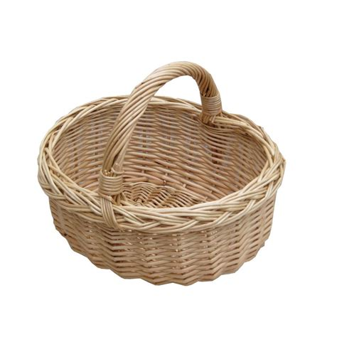 Buy Small Wicker Shopping Basket Online From The Basket