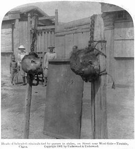 Boxer Rebellion, Heads Of Beheaded Photograph by Everett