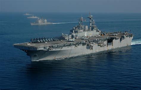 Boat Landing Definition by Uss Boxer Lhd 4 Wasp Class Hibious Assault Ship