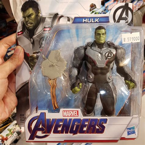 Leaked Avengers Endgame Toys Confirm The Quantum Realm Suits