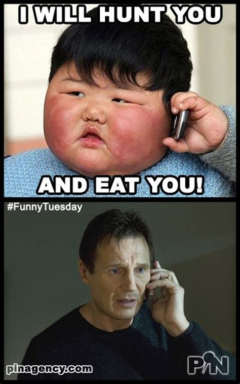Angry Kid Meme - funny tuesday meme never make a cute kid feel hungry oh i mean angry visit us at www