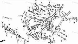 Honda Motorcycle 2000 Oem Parts Diagram For Frame