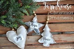 Farmhouse, Christmas, Ornaments