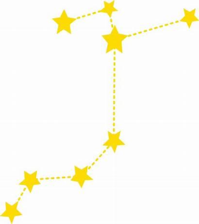 Constellation Sagittarius Clipart Star Constellations Line Sky