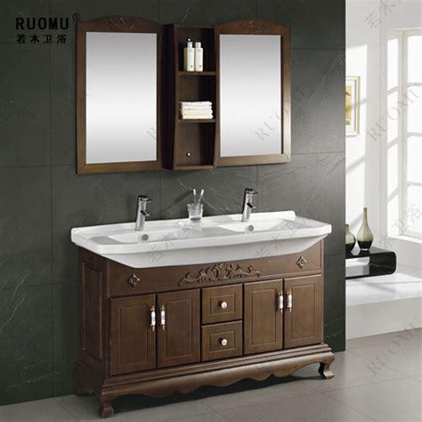 Gabinetes De Bao by Oak Wood Bathroom Cabinet Bathroom Vanity Bathroom