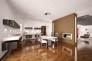 Alle Sitzmöbel In Einem Raum : moderne k chen wohnen und kochen in einem raum mein bau ~ Bigdaddyawards.com Haus und Dekorationen