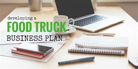 write  food truck business plan  template