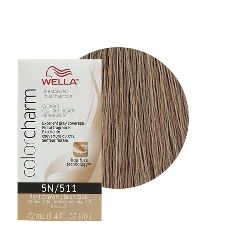5n hair color wella color charm permament liquid hair color 42ml light