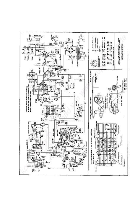kapsch herold de luxe radio 1960 sch service manual schematics eeprom repair info