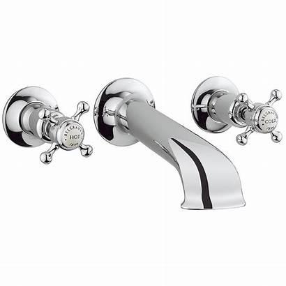 Taps Crosswater Belgravia Bath Stop Spout Crosshead