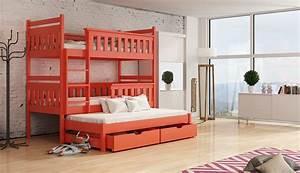 Deine Möbel 24 : etagenbett kinderbett hochbett kev stockbett mit matratzen 80x180 ko lackiert ebay ~ Indierocktalk.com Haus und Dekorationen