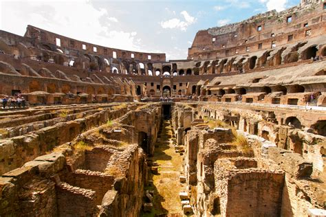 Free Colosseum In Rome by Colosseum Underground Tours In The Footsteps Of