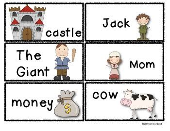 jack and the beanstalk literacy fun activities centers tpt