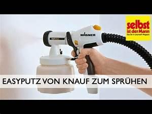 Knauf Easyputz Farben : easyputz von knauf zum spr hen youtube ~ Eleganceandgraceweddings.com Haus und Dekorationen