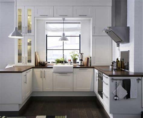 Küchenideenfürkleineküchenmitweißeküchenmöbel