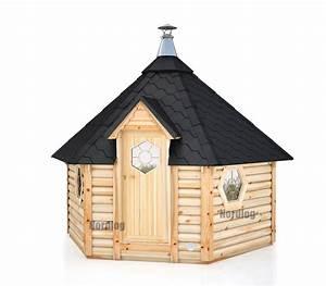 Saunahaus Mit Vorraum : nordlog saunakota mit vorraum 9 2m2 saunahaus gartensauna ~ Whattoseeinmadrid.com Haus und Dekorationen