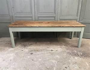Table En Bois Massif Ancienne : ancienne table de ferme en ch ne massif ~ Teatrodelosmanantiales.com Idées de Décoration