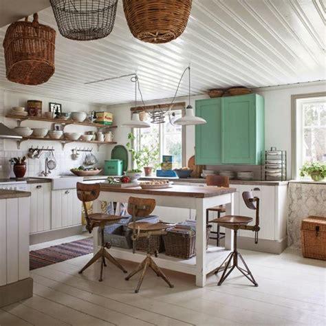deco cuisine shabby cuisine shabby chic un décor moderne et romantique