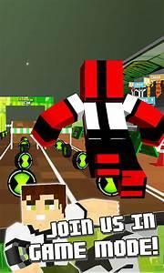 Free Super Run Ben 10 Block Skins Running 3D Games APK ...