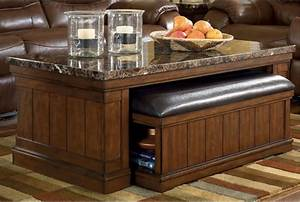 Merihill cocktail table w ottoman cocktails cocktail for Furniture mattress outlet longview