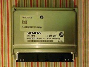 siemens trockner e46 37 bmw dme engine computers ebay