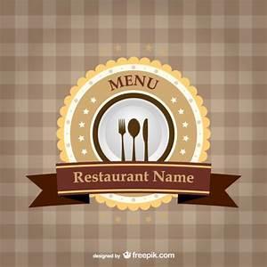 Logo para carta de restaurante Descargar Vectores gratis