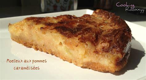 cookingrooxxyy moelleux aux pommes caram 233 lis 233 es avec ou sans thermomix