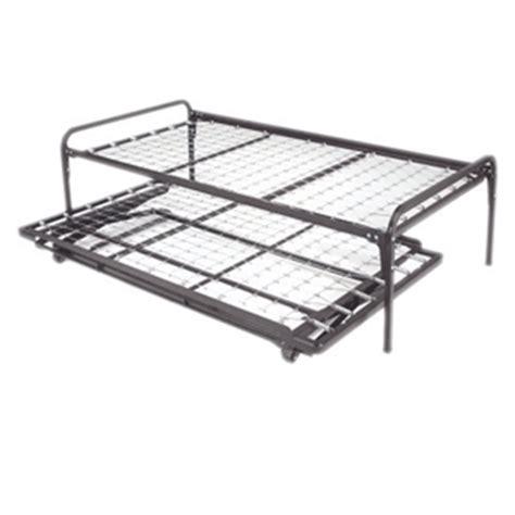 Pop Up Trundle Bed Set by Bed Frames Rails Pop Up Trundle Bed Set 453114 Lpfs
