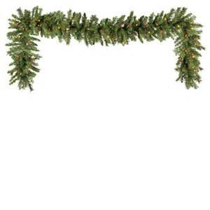 christmas light garland christmas decorating