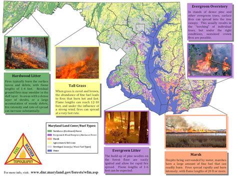 Wildland Fire In Maryland