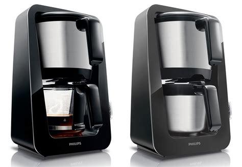 kaffeemaschine philips philips avance hd kaffeemaschine 2 farben mit glas oder thermokanne