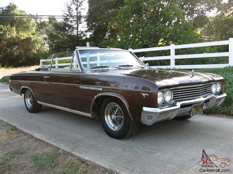 1965 Buick Skylark Convertible For Sale by 1965 Buick Skylark Gran Sport Convertible Ca Car With Options