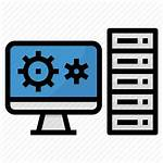 Server Computer Pc Workstation Icon Network Icons