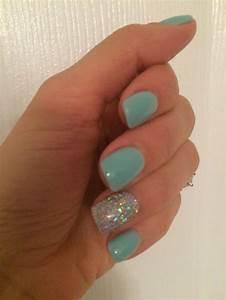 Nail Designs Dip Powder Sns Gelous Color Tiffany Blue Sns Nails Colors