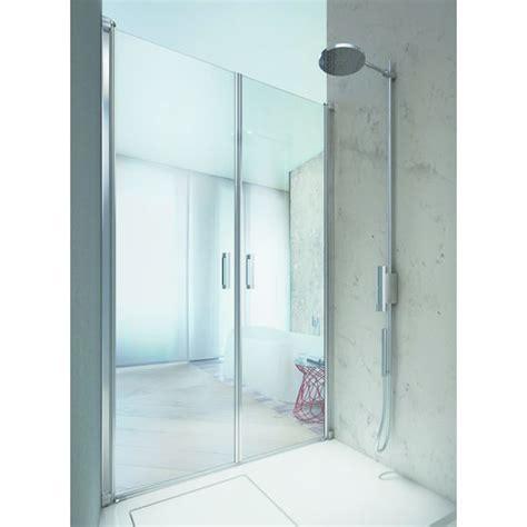 porte vitree reversible pour douche linea vismara