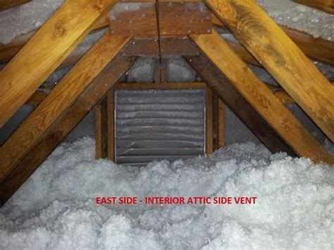 ice frost  attic   remedy doityourself