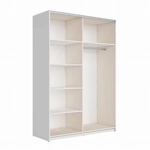 best armoire 180 cm blanc brillant miroir achat With meuble a chaussure porte manteau 3 best armoire 180 cm noir brillant miroir achatvente