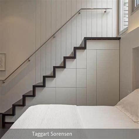 Kleine Loft Wohnung Manhattan Micro Loft Specht Harpman by Treppe Mit Integrierten Aufbewahrungsm 246 Glichkeiten