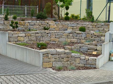Mörtel Für Natursteinmauer by Natursteinmauer Jassmann Gartengestaltung
